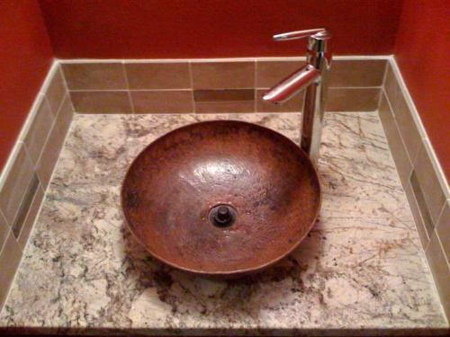 vanity sink bown tile countertop anchorage alaska