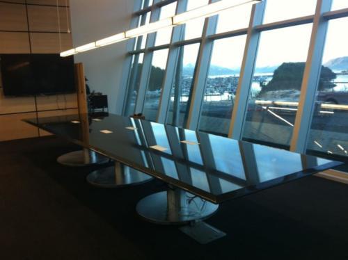 dark conference table anchorage alaska countertop tile