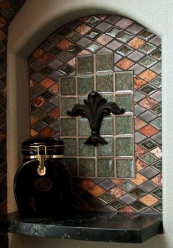 fake window nook with tile tiling anchorage alaska