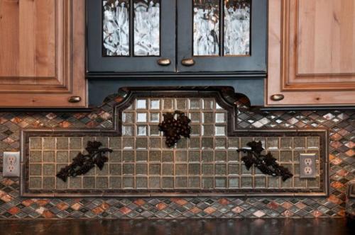 Kitchen backsplash counter top tile anchorage alaska